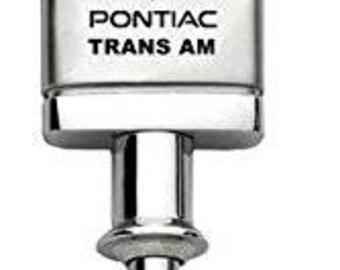 Pontiac Trans Am Keychain & Keyring - Valet