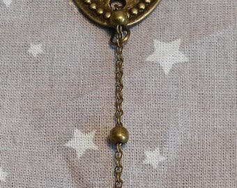 """""""Lock"""" Steampunk bracelet"""