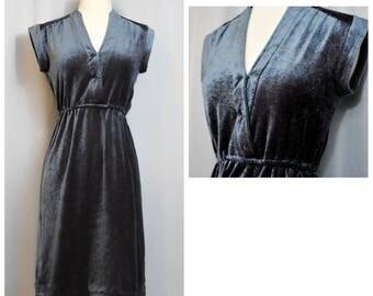 Jonathan Logan 70s Velour Dress