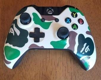 Custom Bape Xbox One Controller