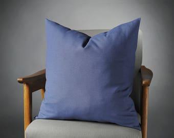 Blue Pillow, Navy Pillow, Blue Pillow Cover, Navy Pillow Cover, Blue Decorative Pillow, Blue Couch Pillow, Navy Sofa Pillow, Blue Pillow