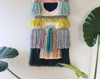 Woven wall hanging | Weaving | Tapestry | Wall Art | Fiber Art | Handwoven