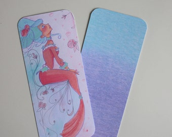 Royal Mermaid bookmark