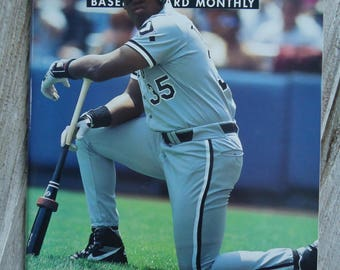 1994 Frank Thomas Beckett - White Sox - Frank Thomas - Chicago White Sox - Vintage White Sox - Vintage baseball - Beckett - The Big Hurt