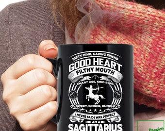 Sagittarius Mug, Sagittarius Zodiac Mug, Sagittarius Astrology Mug, Sagittarius Astrology Birthday Gift, Sagittarius Horoscope Sign, TP5006M