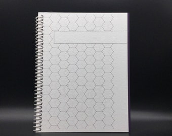 FADE TO WHITE   Personalized  Flex-Hardcover Notebook / Journal 200 pages