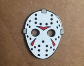 Classic Hockey Mask - Enamel Pin