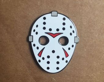 Classic Hockey Mask - Enamel Pin