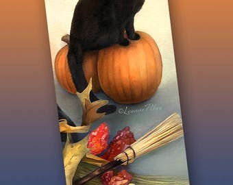 Shadow Halloween Bookmark - Bookmarker - Bookmarking - Bookmarks for Books - Book Mark - Reading Bookmark
