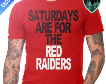 Official Saturdays are for the Red Raiders Shirt, Texas Tech Football Shirt, Red Raiders Shirt, Texas Red Raiders, Red Raiders Football Gift