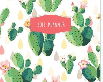 2018 Planner, Weekly & Monthly Planner