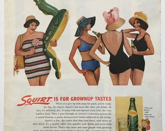 Pretty offensive Squirt ad from 1962 LIFE magazine