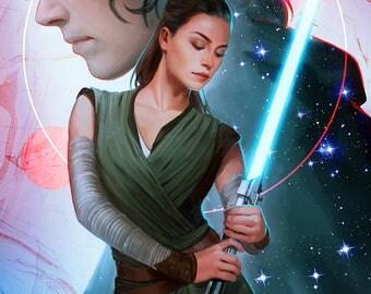 Star Wars - The Balance Open Edition Art Print 11x17 inch