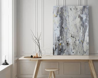 Birch - Unique Abstract Acrylic Painting