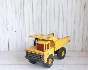 Vintage Yellow Tonka Dump Truck
