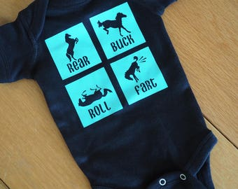 Little Equestrian Baby Body Suit