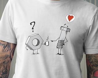 I Screw You Nut funny tshirt Screw Nut tshirt Screw tshirt Nut t-shirt Screw t-shirt funny t-shirt Nut tee funny tee builder tshirt handyman