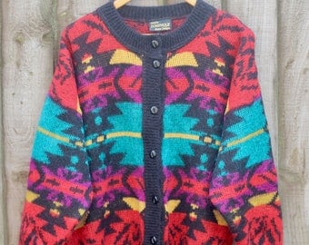 Retro Knit Mohair Cardigan