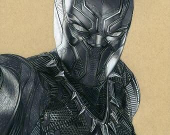Black Panther - Matte Print