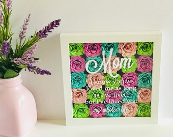 Mothers Day Custom Frame - Perfect Gift for Mom - Personalized Mothers Day Gift - Long Distance Mom - Mothers Day