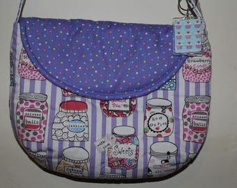 Kawaii Confectionery Sweet Jars Shoulder Bag