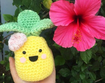 Cute Crochet Amigurumi Pineapple