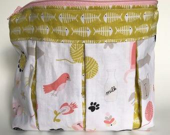 Kitty Cosmetics Bag