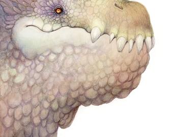 Club-Nosed Dragon Print