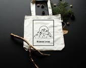 Mountain Lovers tote bag ...