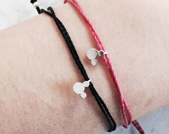 Mickey Mouse Bracelet/ Disney jewelry/ mum and baby matching jewelry/ mother daughter jewellery Australia/ Handmade Jewellery Australia