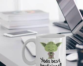 Best Boyfriend Mug - Yoda Best Boyfriend Gift - Best Boyfriend Gifts - Yoda Collectors - Star Wars Mug - Yoda Best Boyfriend Pun Mug