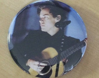 Harry Styles London-2.25 inch Pinback Button-NEW 2017