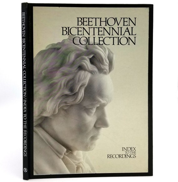 Beethoven Bicentennial Collection Index to the Recordings 1972 Hardcover HC - Time Inc. - Records / LPs Set Reference