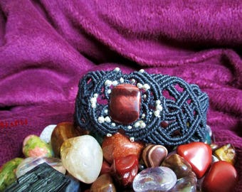 Black Celtic bracelet