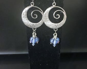 Elegant Swirl Earrings