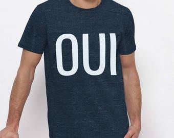 Yes T-Shirt - blue man
