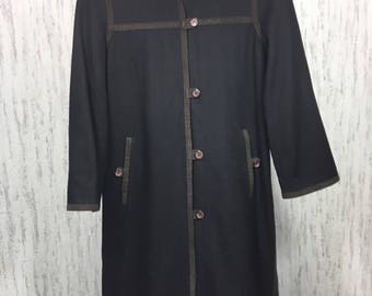 Vintage Wool Coat Size 36