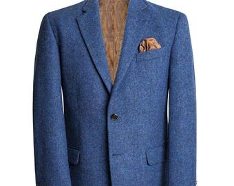 Handwoven Irish Tweed Men's Blazer