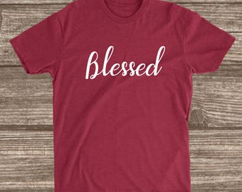 Blessed Cardinal Red Unisex T-shirt - Blessed Shirts - Blessed Shirts for Women