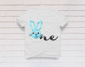 First Birthday svg, One svg, 1st Birthday svg, Birthday boy svg, Bunny svg, Birthday shirt, Cricut, Cameo, Clipart, Svg, DXF, Png, Pdf, Eps