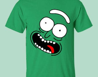 Pickle Rick Shirt, Rick and Morty T-Shirt, Funny Tee, I'm Pickle Rick Shirt, Pickle T-Shirt, 5X, 4X, Gildan, DTG Print Shirt, Plus Size