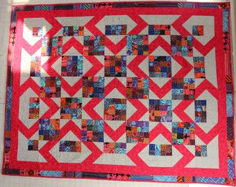 Sunny Shies Quilt/Throw