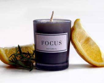 Focus Aromatherapy Candle