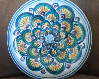 Small Branciforti Italian Decorative Plate