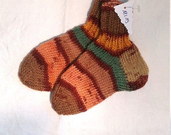 Baby socks, children socks, handknit Gr. 18/19