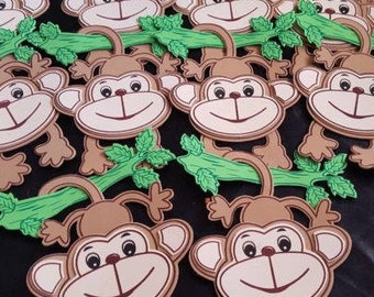 20 pieces of monkey decorations