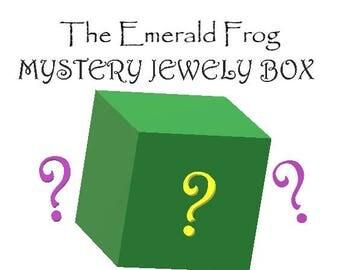 Mystery Jewelry Box, Surprise Box, Grab Bag, Random, Gift, Present, Jewelry