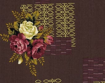 Outback Wife Barkcloth by Gertrude Made - Kirstine in Wild Rose Limited Edition