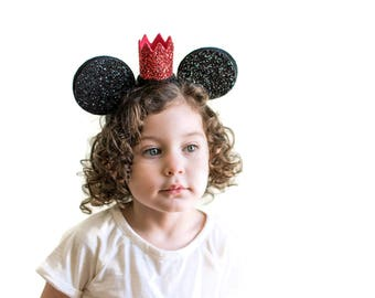 Mickey Mouse Headband | Minnie Mouse Headband | Mickey Ear Headband | Disneyland | Disney World