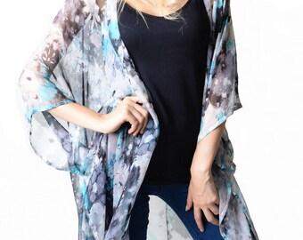 Harper 'Blue' Kimono Cover-up